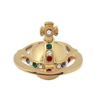 ヴィヴィアンウエストウッド(Vivienne Westwood)の最終値下げ Vivienne solid orb ring💙(リング(指輪))