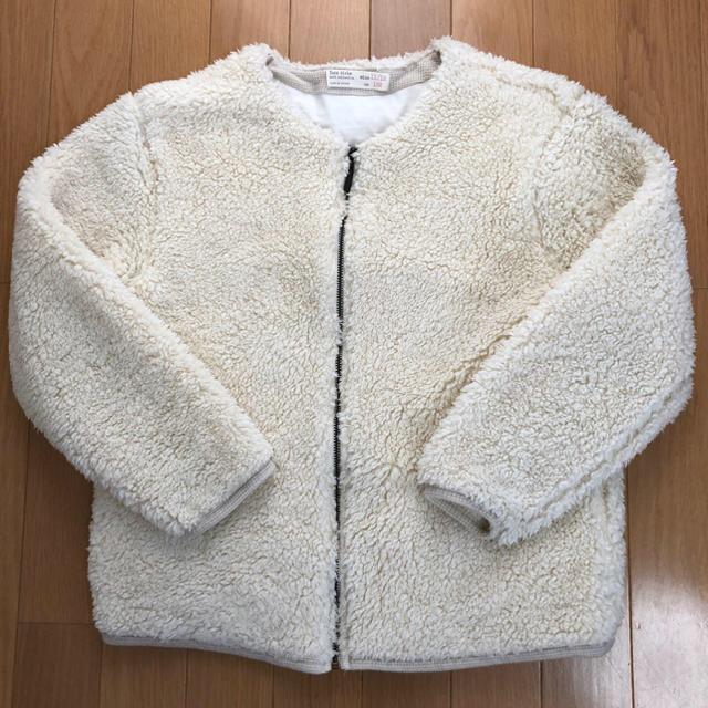 ZARA KIDS(ザラキッズ)の最終値下げ!大人着れます☆ZARAキッズボアジャンパー☆152cm レディースのジャケット/アウター(毛皮/ファーコート)の商品写真