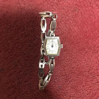 アガット(agete)のアガット シルバー製腕時計(腕時計)