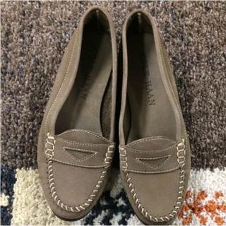 コールハーン(Cole Haan)のコールハーン ローファー スエード(39545)(ローファー/革靴)