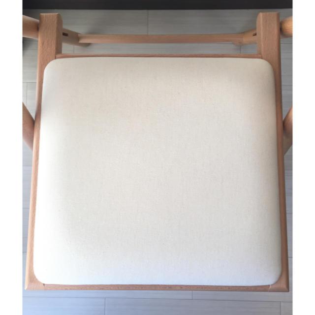 MUJI (無印良品)(ムジルシリョウヒン)の【無印良品】折りたたみ 椅子 インテリア/住まい/日用品の椅子/チェア(折り畳みイス)の商品写真