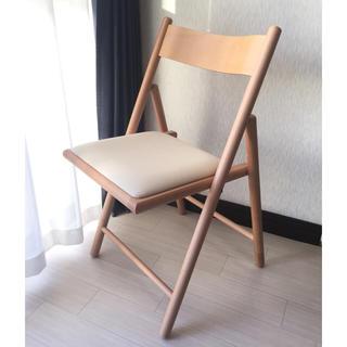 ムジルシリョウヒン(MUJI (無印良品))の【無印良品】折りたたみ 椅子(折り畳みイス)