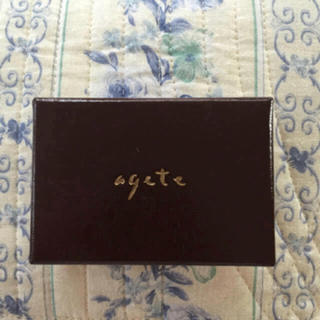 アガット(agete)のagete♡アクセサリーbox(小物入れ)