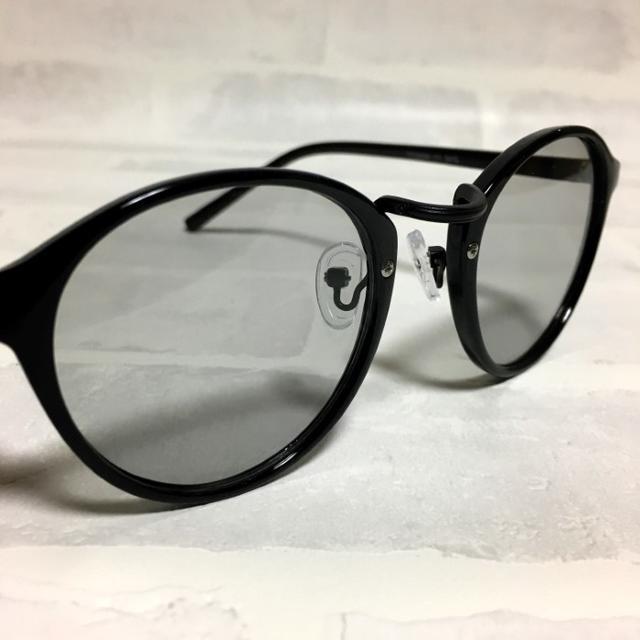 セレクトショップ商品!ボストン/グレーライトレンズ! レディースのファッション小物(サングラス/メガネ)の商品写真