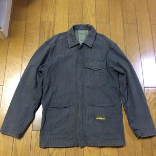 ステューシー(STUSSY)のstussy ステューシー 古着ワークジャケット 大きめLサイズ 中国製(カバーオール)