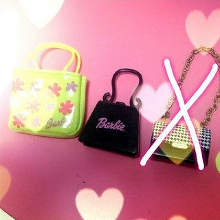 バービー(Barbie)のBarbie❤バッグ👜ショッパー付き【バービー人形】(ぬいぐるみ/人形)