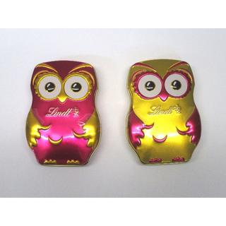 リンツ(Lindt)の**akp様専用**リンツ ふくろうチョコレート 8缶セット ドイツより送料込み(菓子/デザート)