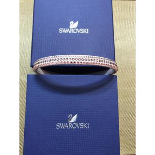 スワロフスキー(SWAROVSKI)の【値下げ】スワロフスキー  カチューシャ(カチューシャ)