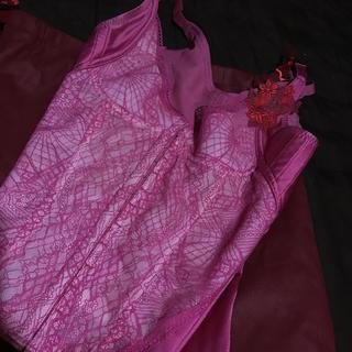 マルコ(MARUKO)のサラ ピンク コンキャミ  75(ブラ)