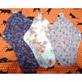 ◇12 ハンドメイド 布ナプキン 3枚セット 透湿防水布あり 新品(その他)