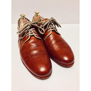 アルフレッドバニスター(alfredoBANNISTER)のアルフレッドバニスター 25.0 プレーントゥ ブラウン 革靴(ドレス/ビジネス)