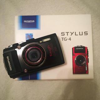 オリンパス(OLYMPUS)のOLYMPUS  Tough  tg-4  black(コンパクトデジタルカメラ)