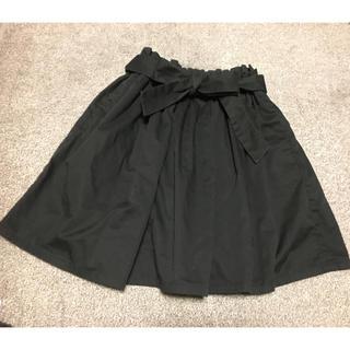 ローリーズファーム(LOWRYS FARM)のリボンベルト付き♡Aラインスカート(ミニスカート)