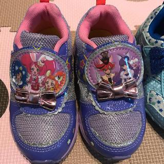 専用です♡プリキュアと瞬足、靴2点セット 16cm(スニーカー)