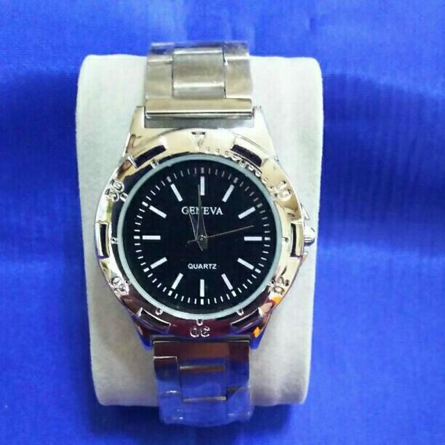 シルバーメタル メンズ腕時計 メンズの時計(腕時計(アナログ))の商品写真