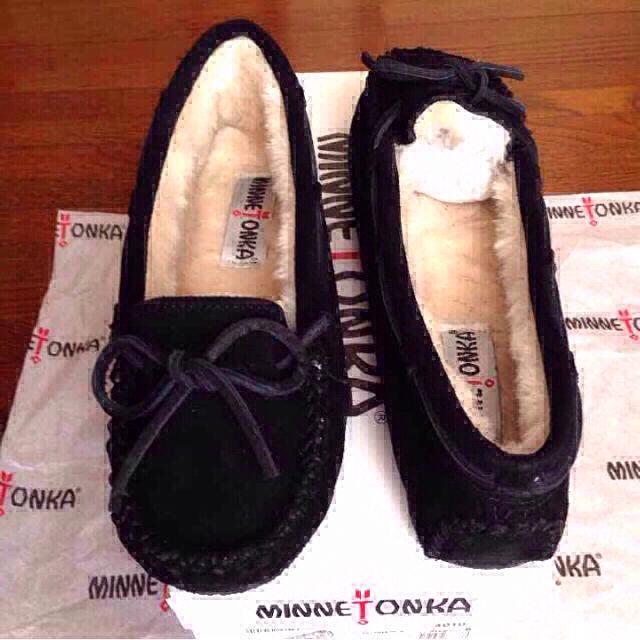 Minnetonka(ミネトンカ)のミネトンカ キャリースリッパーモカシン8 レディースの靴/シューズ(ローファー/革靴)の商品写真