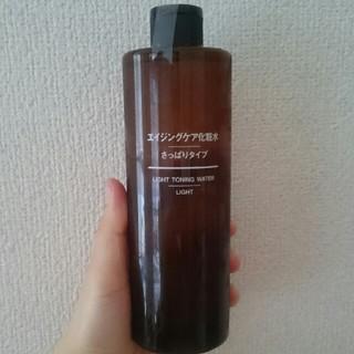 ムジルシリョウヒン(MUJI (無印良品))の無印 エイジングケア 化粧水 さっぱりタイプ 400ml(化粧水 / ローション)