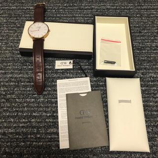 ダニエルウェリントン(Daniel Wellington)のダニウェルウェリントン  40mm(腕時計(アナログ))