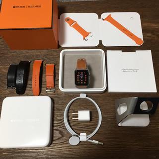 アップルウォッチ(Apple Watch)の美品 Apple Watch series 2 HERMES(腕時計(デジタル))