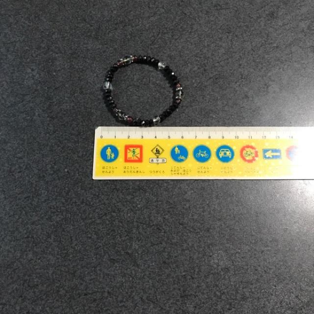 ブラックダイヤモンドブレスレット メンズのアクセサリー(ブレスレット)の商品写真