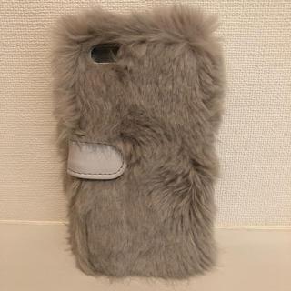 iphoneファーケース 6/6s(iPhoneケース)