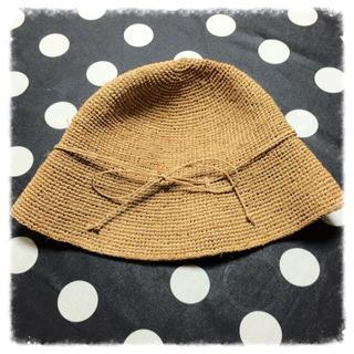 ムジルシリョウヒン(MUJI (無印良品))の無印良品 ラフィア帽子(ハット)