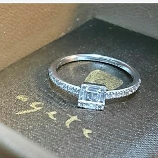 アガット(agete)の14日迄期間限定sale! ベルシオラ K18 WG リング(リング(指輪))