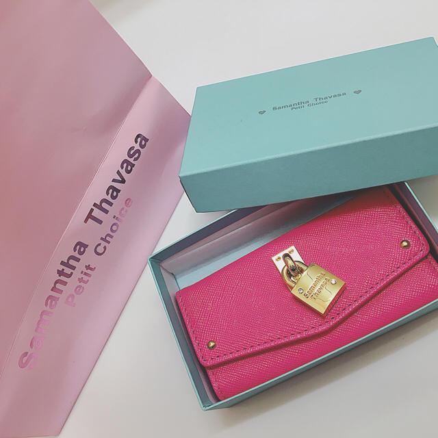 iPhone 11 ProMax カバー MCM / Samantha Thavasa Petit Choice - サマンサタバサ キーケース ピンク 新品未使用の通販 by prairie's shop|サマンサタバサプチチョイスならラクマ