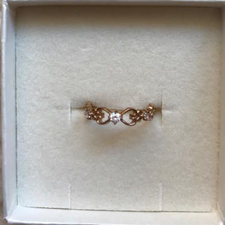 アクセサリーズブラッサム(Accessories Blossom)のBlossom リボンリング(リング(指輪))