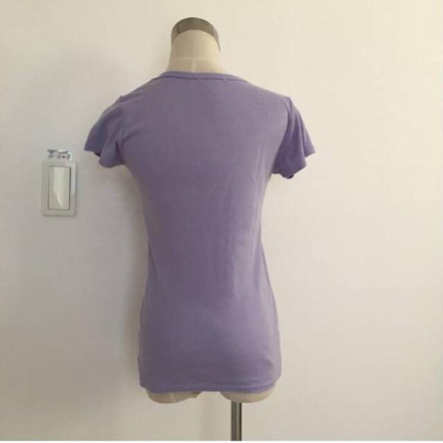 65.culots★半袖Tシャツ★パープル レディースのトップス(Tシャツ(半袖/袖なし))の商品写真