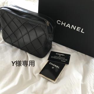 シャネル(CHANEL)の● Y様専用●CHANELバック✳︎ブラック 送料無料(ショルダーバッグ)
