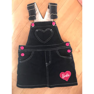 バービー(Barbie)のバービー★ジャンパースカート★95★デニム(ワンピース)