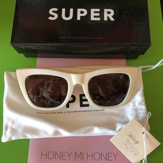 ハニーミーハニー(Honey mi Honey)のサングラス☆新品 SUPER HONEY MI HONEY(サングラス/メガネ)