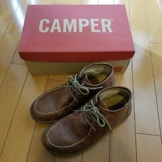 カンペール(CAMPER)のCAMPER カンペール チャッカレザーブーツ(ブーツ)