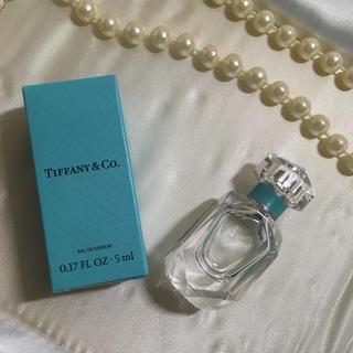 ティファニー(Tiffany & Co.)のTiffany 新作 香水 ミニボトル 5ml 未使用 (香水(女性用))
