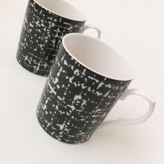 ツイード♡マグカップ(食器)