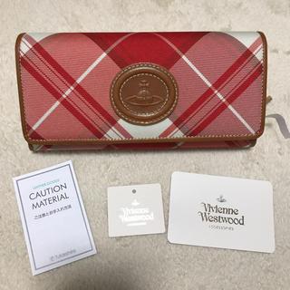 ヴィヴィアンウエストウッド(Vivienne Westwood)の新品未使用 タグ付 Vivienne Westwood 長財布 タータンチェック(財布)