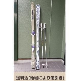 ディナスター(DYNASTAR)のスキー板 Dynastar Facile 160cm/LOOK XR6(板)