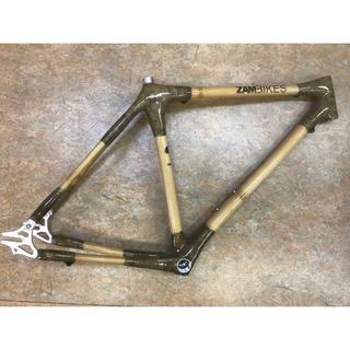 アフリカザンビアの竹製ロードフレーム『ZAMBIKES』520mm(自転車本体)