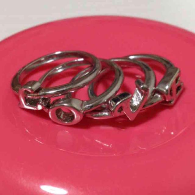 リング セット レディースのアクセサリー(リング(指輪))の商品写真