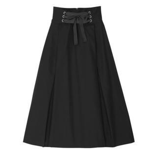 ルシェルブルー(LE CIEL BLEU)のアンスリード UN3D ハイウエストスカート 新品未使用(ロングスカート)