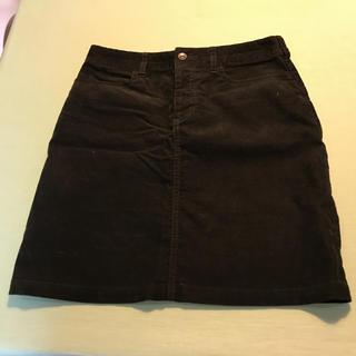 ムジルシリョウヒン(MUJI (無印良品))のコーデュロイスカート(ミニスカート)