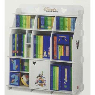 ディズニー(Disney)の【新品未開封】ワールドファミリー ブックケース 棚(棚/ラック/タンス)