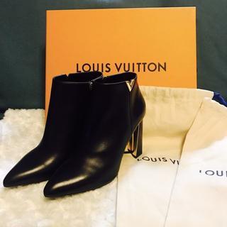 ルイヴィトン(LOUIS VUITTON)の【新品/未使用】入手困難 ♡ルイヴィトン♡ ブーツアッパーイースト 24.5cm(ブーティ)