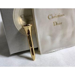 ディオール(Dior)の正規 ディオール ヴィンテージ ロゴ文字ゴルフボール ピンスタンド金 ボール立て(その他)