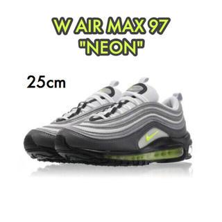 ナイキ(NIKE)の 【新品】25cm NIKE AIR MAX 97 neon (スニーカー)