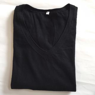 ムジルシリョウヒン(MUJI (無印良品))の無印 MUJI Vネック 洗えるニット(ニット/セーター)