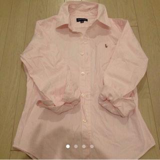 ラルフローレン(Ralph Lauren)のラルフローレン ピンクストライプ サイズ150(その他)