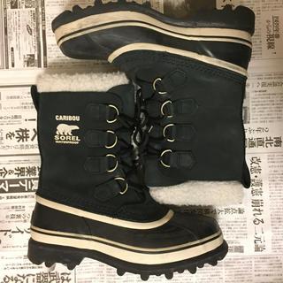 ソレル(SOREL)のSOREL CARIBOU スノーブーツ 24cm(ブーツ)