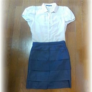 デミルクスビームス(Demi-Luxe BEAMS)のLAPIS BEAMS☆タイトスカート(ひざ丈スカート)